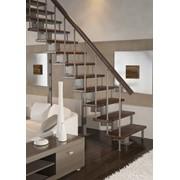 Лестницы модульные прямые фото