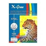 Фотобумага X-Gree 190 гр А4 50 л глянцевая 50 лист фото