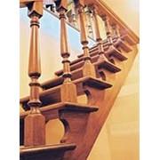Деревянные лестницы на заказ фото