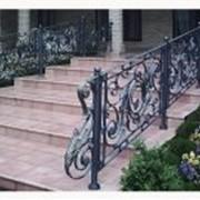 Лестницы, перила кованые фото