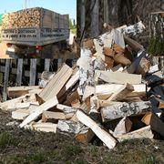 Дрова березовые дрова колотые дрова с доставкой. фото