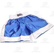 Трусы боксерские синие разм. S фото