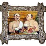"Картина для бани ""Милая беседа"" фото"