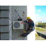 Монтаж и установка кондиционеров в Алматы фото