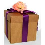 Упаковка-коробки для торта, из микро-гофрокартона фото