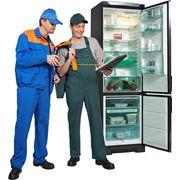 Установка холодильника фото