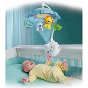 Игрушки подвесные на кроватку фото