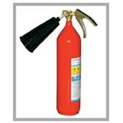 Огнетушитель углекислотный, вместимость 2 л ОУ-2 фото