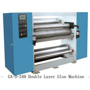 Устройство для нанесения клеящего слоя Double Layer Glue Machine GA-D-240 элемент линии по производству гофрокартона фото