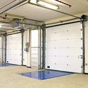 Секционные ворота ISD01, Промышленные секционные ворота DoorHan серии ISD01