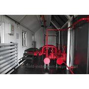 Блочная насосная станция для откачки жидкости из дренажных емкостей фото