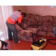 Химчистка мягкой мебели в Астане фото