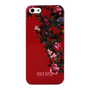 Чехол-накладка Kenzo Glossy Finish Exotic for iPhone 5/5S Red (KENZOEXOTICIP5R) фото
