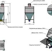 Растариватель мешков ручной, нерж.сталь. фото