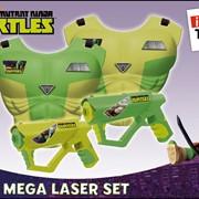 Набор с жилетами и пистолетами, с инфракрасным лучом Черепашки Ниндзя, со светом и звуком фото