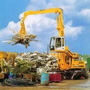 Переработка металлолома. фото