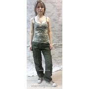 Топик женский, цифровой камуфляж фото