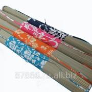 Коврик пляжный с ручкой/натуральный тростник, ткань (60*180), арт. 8614 62806 фото