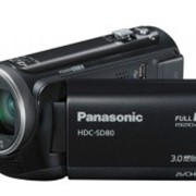 Видеокамера Panasonic HDC-SD80 Black фото