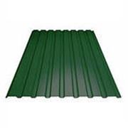 Зеленые профнастилы фото