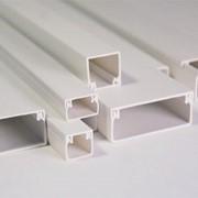 Пластиковые короба кабельные каналы фото