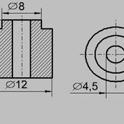 Изолятор втулка ТЕН 12/4,5 фото