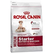 Medium Starter M&B Royal Canin корм для щенков и сук, Пакет, 4,0кг фото