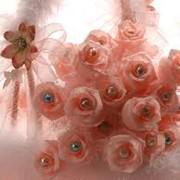 Изготовление композиций из искусственных цветов фото