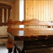Деревянная мебель для сауны и бани. фото