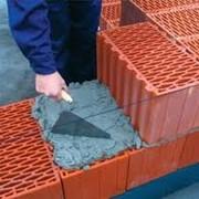 Растворы для кладки стен из газо, пено, перлитобетонных блоков и камней; фото