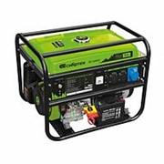 Сибртех Генератор бензиновый БС-6500Э, 5,5 кВт, 230В, четырехтактный, 25 л, электростартер Сибртех фото