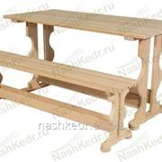 Стол (1500x700 мм), лиственница фото