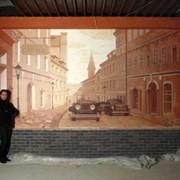 Росписи стен и потолка фото