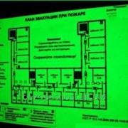 Изготовление планов и схем эвакуации фото