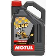 Масло для мототехники Motul Модель 10W40 4T POWER QUAD 4L фото