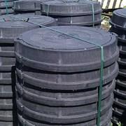 Люк полимерпесчаный канализационный, 15 тн