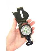 Армейский компас Lensatic (пластик, олива) фото