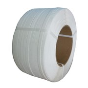 Лента упаковочная белая 12*0,5 *3000 м фото