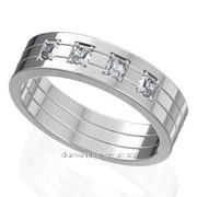 Кольца с бриллиантами W40227-1 фото