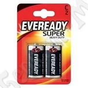 Батарейка Eveready Super Heavy Duty C/R14 FSB2 2шт. /24/ фото