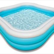 Надувные бассейны из пластика