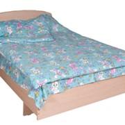 Кровать полутороспальная КР-10 1240х2000х600 фото