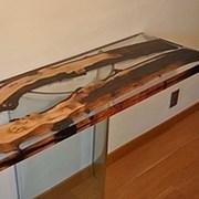 Эпоксидная прозрачная смола Epoxy Wood фото