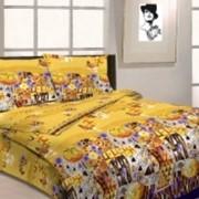 Ткань постельная Бязь 125 гр/м2 220 см Набивная Климт 3981-1/S506 TDT фото