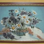 Картина Розы в вазе, арт. 073/7 фото