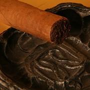Кованная пепельница фото