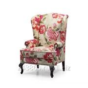 Английское кресло с ушами ХоРеКа 28 фото