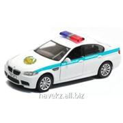 Детская игрушечная модель машинки IDEAL BMW M5 KAZAKHSTAN POLICE,1:43 фото