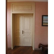 Двери из массива фото
