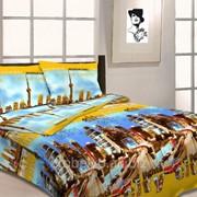 Комплект постельного белья 1.5 СПАЛЬНЫЙ БЯЗЬ B 21 фото
